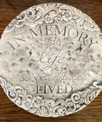 Beautifully Lived Plaque