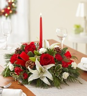 Season's Greeting Centerpiece