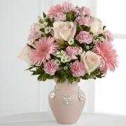 Baby Girl Charmed Vase