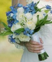 Blue and White Spring Has Sprung Bouquet