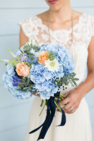Rustic Garden Bridal Bouquet