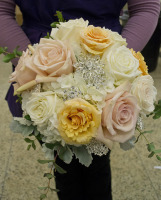 Blush and Bling Bridal Bouquet
