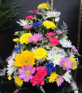 Three Sided Mixed Arrangement