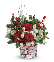 Teleflora's Winterberry Kisses Bouquet