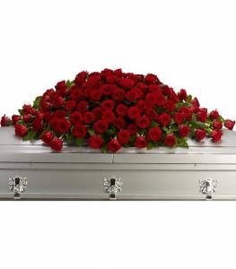 Telefloras Greatest Love Casket Spray