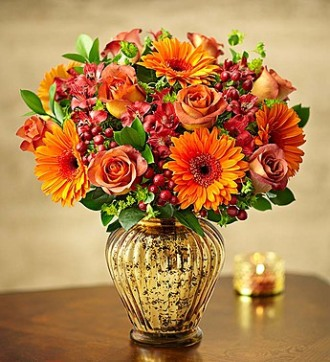 In Love With Fall Bouquet