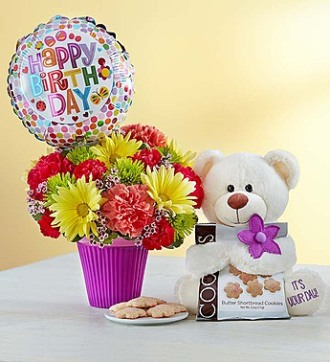 212 Floral Lotsa Love Birthday New York NY 10036 FTD Florist