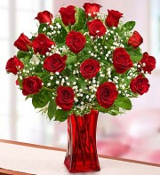 Blooming Love Premium Red Roses