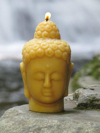 Beeswax Tibetan Buddha Head