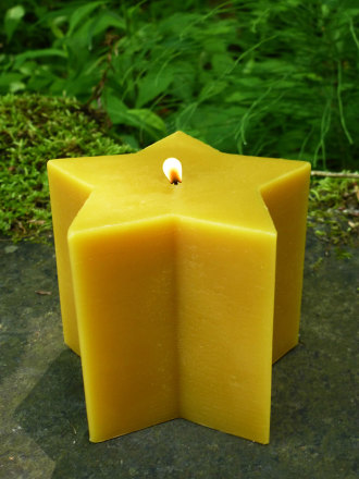 Beeswax 5-Point Star