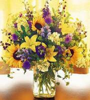 Field of Flowers in Vase