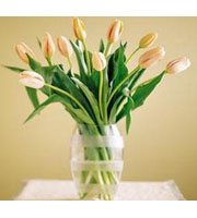 French Tulips Vase