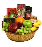 Bountiful Fruit & Gourmet Basket
