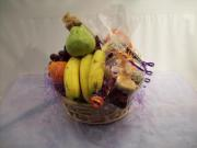 Cookie & Fruit Basket