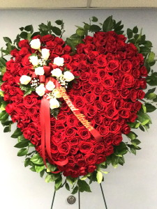 All Red Rose Heart