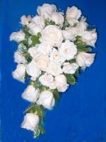 White Rose Bridal Cascade