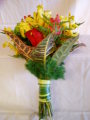 Hand_Tied_ Exotic_Bridal Bouquet