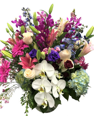 Emil Yedowitz Designed Luxury Mixed Bouquet