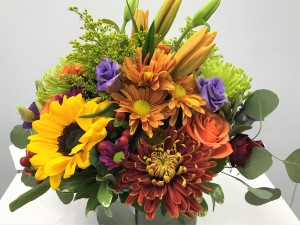 Emil Yedowitz Designed Fall Arrangement in 4