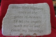 Large Memorial Stone A11