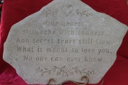 Large Memorial Stone A17