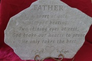 Large Memorial Stone A22