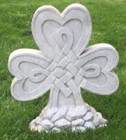 Cherished Shamrock Garden Stone