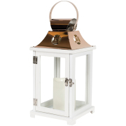 Memorial Lantern White/Copper