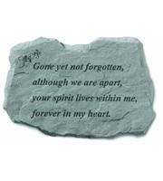 Gone yet not forgotten... Stone