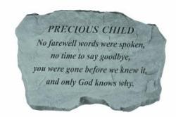 Precious Child - No farewell words... Stone