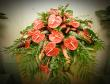 Anthurium Casket Spray