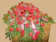 Classic Red Rose Casket Spray