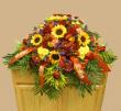 Autumn Casket Spray