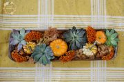 Pumpkin Wooden Tray