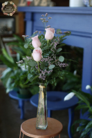 Pink Rose Budvase