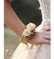 Cream Mini Forever Roses Bangle