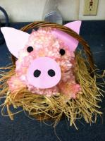 Pig In A Basket Arrangement