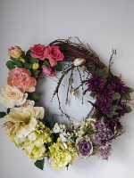 Spring Ombre Wreath