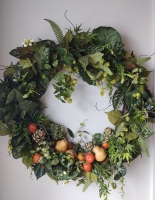 Greenery and fruit Wreath