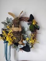 Mossy Bunny Wreath