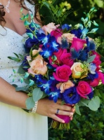 Colonial Bridal Bouquet 1