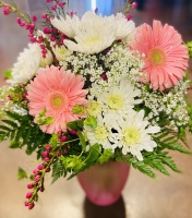 Colonials Pinks & Whites Bouquet