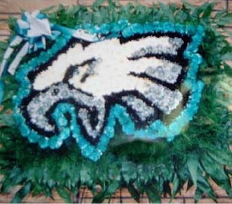 Stein Eagles Football Special Design Piece