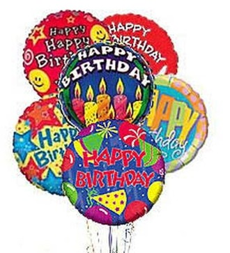 Stein Birthday Mylar Balloon Bouquet