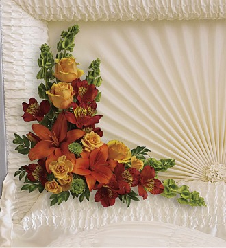 Island Sunset Casket Corner Piece
