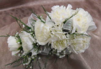 Seven Mini Carnation Corsage