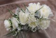Seven Mini Carnation Corsage