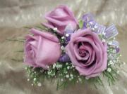 Three Rose Corsage