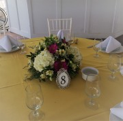 Low Round Centerpiece