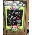Spring has Sprung Door Hanger